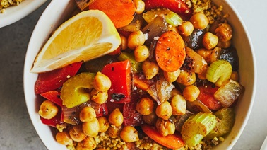Moroccan Couscous by Geneviève O'Gleman