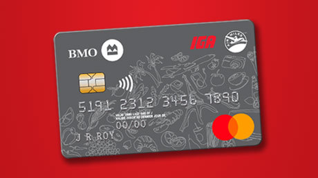 BMO IGA AIR MILES Credit Card